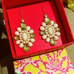 Lilly Pulitzer Via Earrings